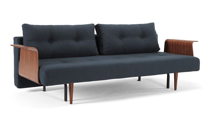 Innovation Recast Sofa Bed With Wood