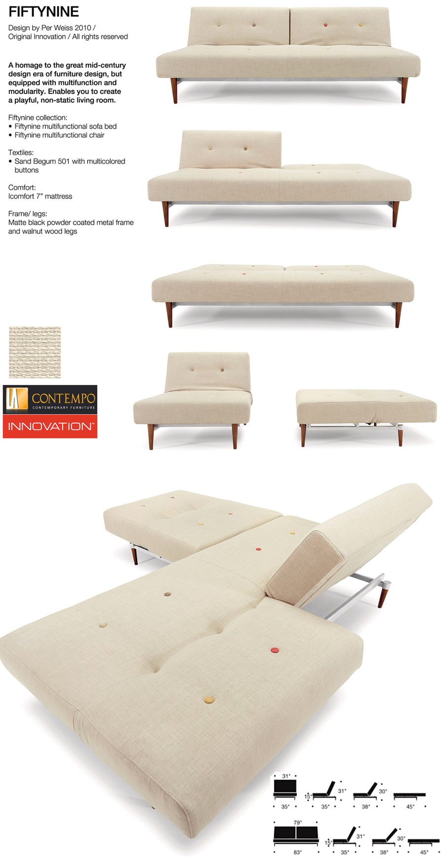 Innovation Fiftynine Chair Sand Begum